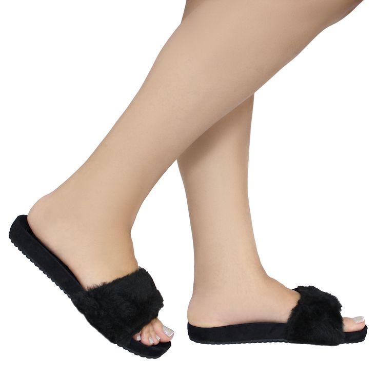 slipper-preto